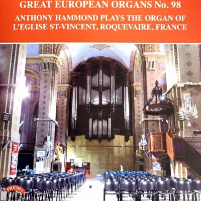 Anthony Hammond Great European Organs Roquevaire 98